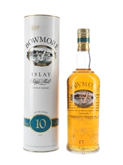Bowmore 10 Year Old Bottled 1990s - Screen Printed Label 70cl / 40%