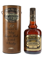 Bowmore 12 Year Old Bottled 1980s - South African Import 75cl