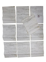 James Murphy & Co. (Midleton Distillery) Receipts & Correspondence, Dated 1864
