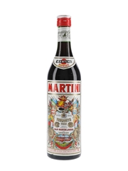Martini Rosso Vermouth Bottled 1970s 75cl / 17%