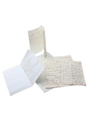 James Jameson Marrowbone Lane Distillery Correspondence, Dated 1844-1847 William Pulling & Co.