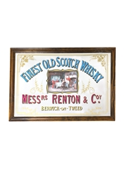 Messrs Renton & Coy Fine Old Scotch Whisky Mirror