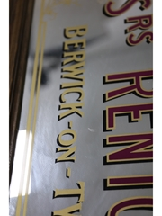 Messrs Renton & Coy Fine Old Scotch Whisky Mirror  94.5cm x 63cm x 2cm