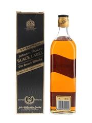 Johnnie Walker Black Label 12 Year Old Bottled 1980s-1990s 75cl / 40%