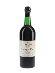 Taylor 1970 Vintage Port