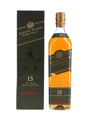 Johnnie Walker 15 Year Old Pure Malt Green Label 70cl / 43%