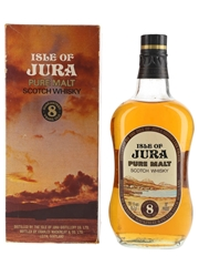 Isle Of Jura 8 Year Old Bottled 1970s 75.7cl / 40%