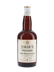 Haig's Gold Label Spring Cap Bottled 1960s 75cl / 40%