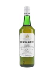 Buchanan's Black & White Bottled 1970s 75.7cl / 40%
