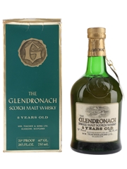 Glendronach 8 Year Old Bottled 1960s-1970s - Wm Teacher's 75.7cl / 40%