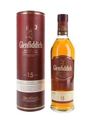 Glenfiddich 15 Year Old Unique Solera Reserve 70cl / 40%