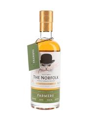 The Norfolk Farmers Single Grain Bottled 2018 - Batch No. 02-2018 50cl / 45%