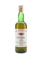 Rosebank 12 Year Old Bottled 1980s - Zenith 75cl / 43%