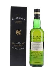 Port Ellen 1980 17 Year Old Bottled 1998 - Cadenhead's 70cl / 62.1%