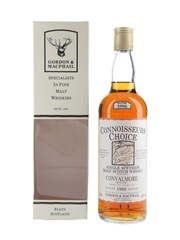 Convalmore 1969 Connoisseurs Choice Bottled 1996 - Gordon & MacPhail 70cl / 40%