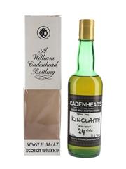 Kinclaith 24 Year Old Single Cask Cadenhead's 37.5cl / 51.4%