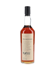 Benrinnes 15 Year Old Flora & Fauna 70cl / 43%