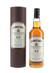 Jameson 12 Year Old Distillery Exclusive The Old Jameson Distillery Reserve 70cl / 40%