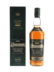 Cragganmore 1985 Distillers Edition Bottled 2000 70cl / 40%