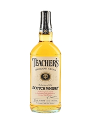 Teacher's Highland Cream Bottled 1980s 75.7cl / 40%