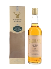Balblair 10 Year Old Bottled 1995 - Gordon & MacPhail 70cl / 40%