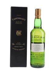 Loch Lomond (Rhosdhu) 1985 10 Year Old Bottled 1996 - Cadenhead's 70cl / 59.5%