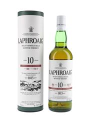 Laphroaig 10 Year Old Cask Strength Bottled 2017 - Batch 009 70cl / 58.1%