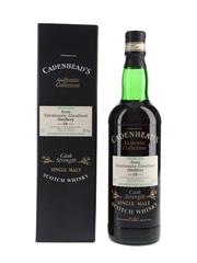 Glenlossie Glenlivet 1978 19 Year Old Bottled 1997 - Cadenhead's 70cl / 58.7%