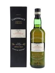 Bladnoch 1980 18 Year Old Bottled 1999 - Cadenhead's 70cl / 57.5%