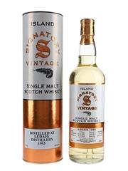 Ledaig 1993 16 Year Old Bottled 2009 - Signatory Vintage 70cl / 43%