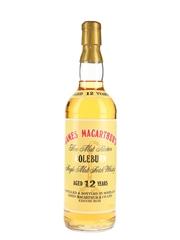Coleburn 12 Year Old Bottled 1990s - James MacArthur 70cl / 43%
