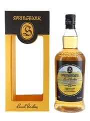 Springbank 2006 11 Year Old Bottled 2017 - Local Barley 70cl / 53.1%