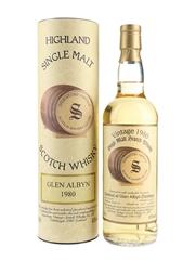 Glen Albyn 1980 15 Year Old Bottled 1996 - Signatory Vintage 70cl / 43%