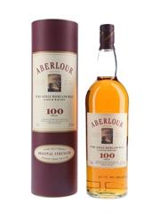 Aberlour 100 Proof Bottled 1990s - Duty Free 100cl / 57.1%