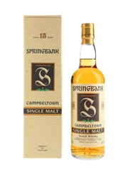 Springbank 15 Year Old Bottled 1990s 70cl / 46%