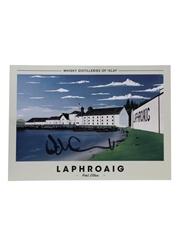 Laphroaig Distillery Print  29.5cm x 21cm