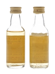 Glenmorangie 10 Year Old Bottled 1990s 2 x 5cl / 40%