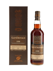 Glendronach 1990 25 Year Old PX Puncheon Bottled 2015 70cl / 51.6%
