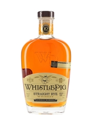 WhistlePig 10 Year Old Rye PittCue Exclusive 75cl / 59.7%