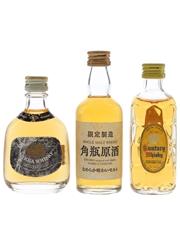 Nikka Gold & Gold and Suntory Kakubin