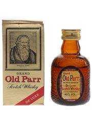 Grand Old Parr De Luxe Bottled 1980s 5cl / 40%
