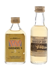 Grendel's 5 Year Old & Sheep Dip 8 Year Old