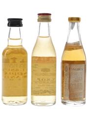 Keo, Jersey & St Agnes Brandy  3 x 5cl