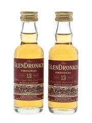 Glendronach 12 Year Old Original  2 x 5cl / 43%