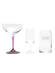 Chambord, Jack Daniel's & Slane Glasses