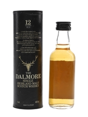 Dalmore 12 Year Old Bottled 1980s 5cl / 43%