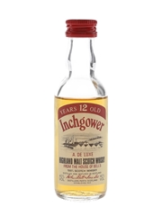 Inchgower 12 Year Old Bottled 1980s 5cl / 40%