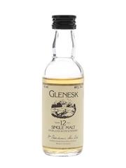 Glenesk 12 Year Old Bottled 1980s 5cl / 40%