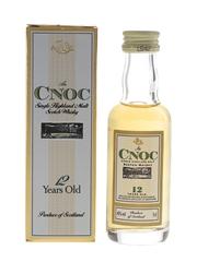 AnCnoc 12 Year Old Bottled 1990s - Knockdhu Distillery Company 5cl / 40%