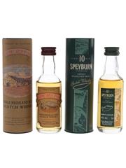 Drumguish & Speyburn Bottled 1990s 2 x 5cl / 40%